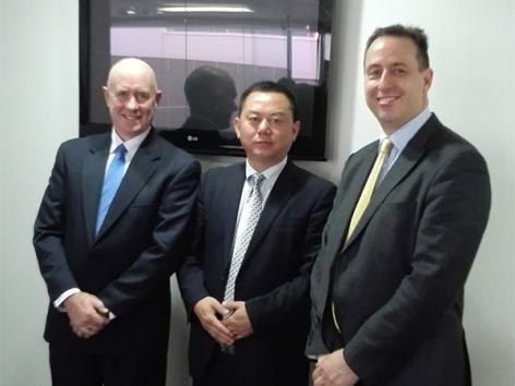 董事长访问悉尼德赢vwin客户端苹果版下载协会合影